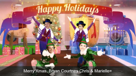 Happy Holidays 2 Bry Court Chris Mar