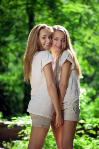 Chantal and Cathy