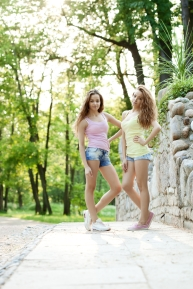 Cathy and Chantal